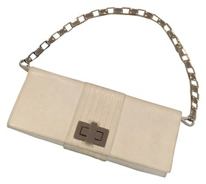 Kooba White Clutch