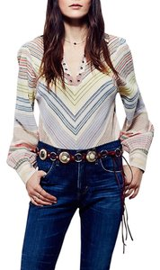 Free People Free People Mini Damsel Hip Belt Red