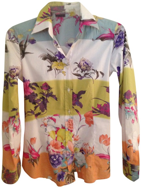 Preload https://item1.tradesy.com/images/etro-floral-multi-peach-blue-print-stretch-cotton-shirt-blouse-size-6-s-142600-0-0.jpg?width=400&height=650