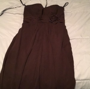 Bill Levkoff Brown Dress