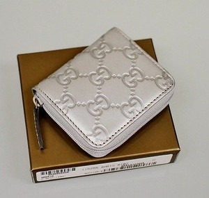 Gucci Guccissima Leather Coin Wallet