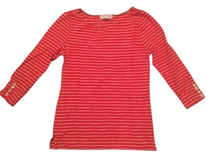 Forever 21 T Shirt Red Orange/Taupe