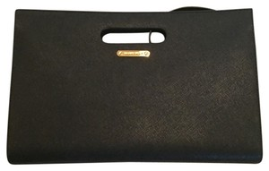 Michael Kors Leather Black Clutch