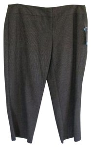 Style & Co Trouser Pants BLACK TWEED