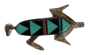 Other Sterling Vintage Signed Southwestern Brooch