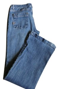 Fox riders co Boot Cut Jeans-Medium Wash