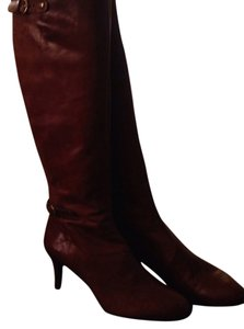 Nine West Cognac Boots