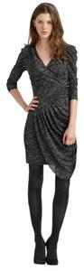 Cynthia Steffe Draped 3/4 Sleeve Dress