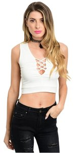 Other Crop Top White