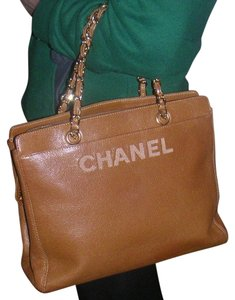 Chanel Gst Gst Tote in brown