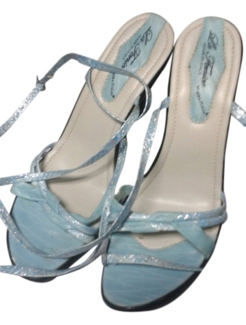 Item - Blue Made In Italy Strappy Sandals Size US 11 Regular (M, B)