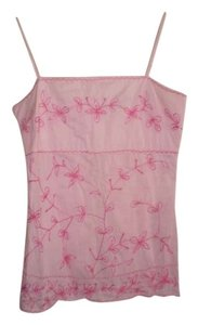 Vanity Open Back Top Pink