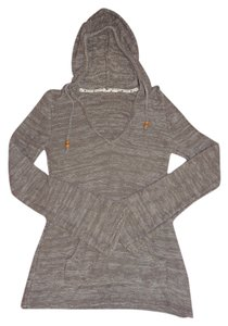 Roxy Hoodie Hippie Fall Dark Grey Jacket