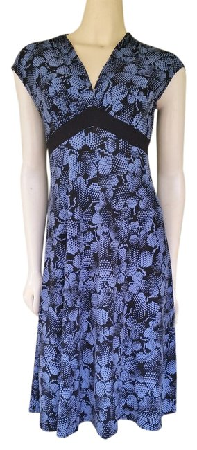 Other short dress Blue Slinky Pull-on on Tradesy