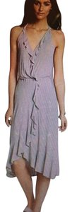 Ella Moss short dress Heather Gray on Tradesy