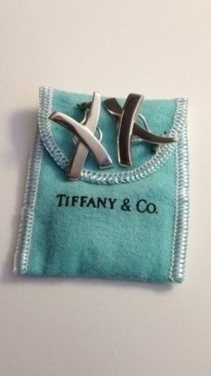 Paloma Picasso Tiffany clip sterling earrings