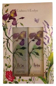 Crabtree & Evelyn New in box Crabtree Evelyn Iris gift set box shower gel & body lotion