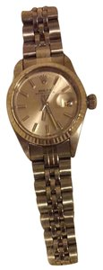 Rolex Rolex Women's Date Stainless Steel Watch