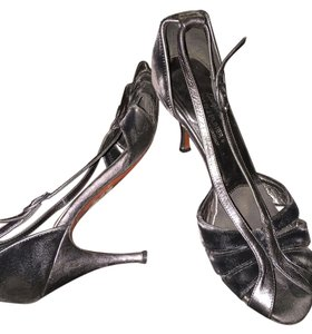 Donald J. Pliner Black/silver Pumps