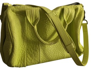 Alexander Wang Satchel in Neon Green