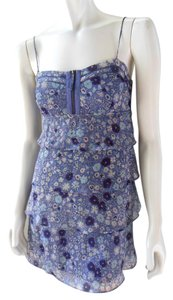 American Eagle Outfitters short dress Purple Chiffon Babydoll Empire Waist on Tradesy