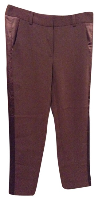 Victoria's Secret Skinny Pants Burgundy