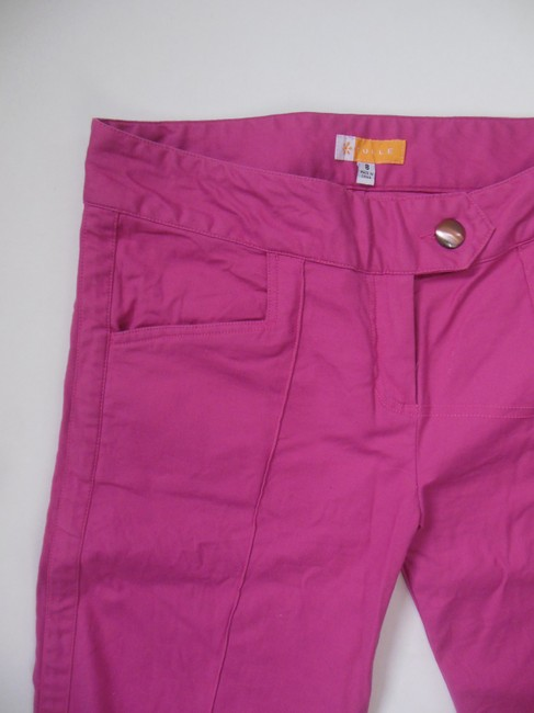 Tulle Bermuda Walking Wide Leg Casual Nordstrom Capris Pink Fuchsia
