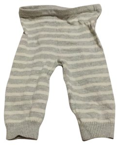 babyGap Grey and white striped Leggings