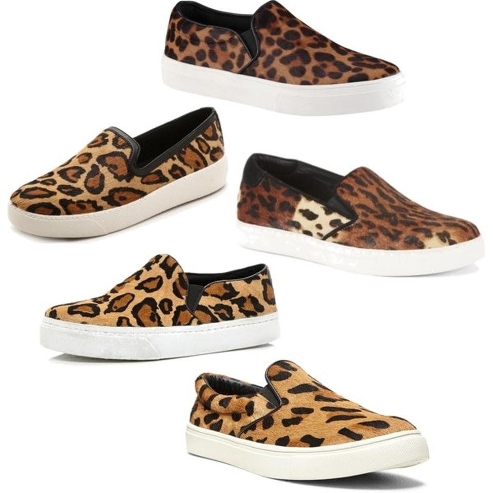 53fb70b5209c Steve Madden Ecentric Leopard Women's Slip-on Fashion Sneaker Flats ...