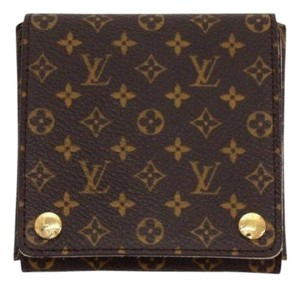 Louis Vuitton Authentic Louis Vuitton Monogram Large Travel Folding Jewelry Case