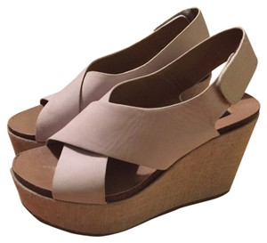 Steven by Steve Madden Nude Wedges