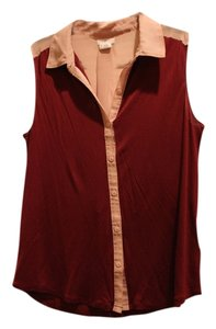 Urban Outfitters Top Maroon
