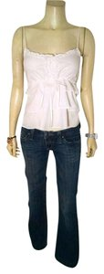Juicy Couture Sleeveless Size Small Top white