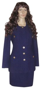 Chanel Chanel Knit Skirt and Jacket Suit