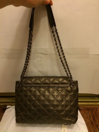 Marc Jacobs Lambskin Chanel Louisvuitton Prada Quiltedleather Quiltedcrossbody Balenciaga Shoulder Bag