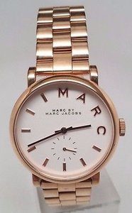 Marc Jacobs Marc By Marc Jacobs Rose Gold-tone Ladies Watch Mbm3244