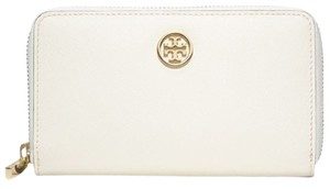 Tory Burch Tory Burch White middle size wallet