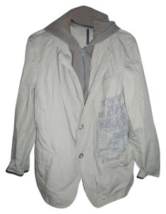 Other 100% Cotton Removable Liner Hood Tan Jacket