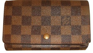 Louis Vuitton Louis Vuitton Damier Ebene Wallet and 4 Key Case