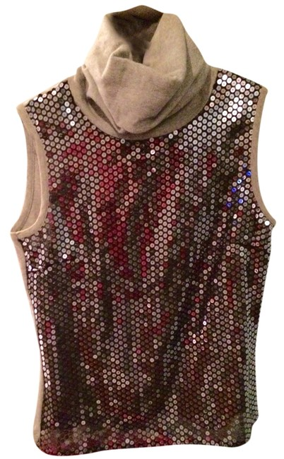 Item - Silver Sequins/Gray Top