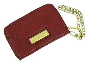 Olivia + Joy Wristlet in Dark Red