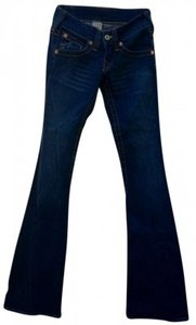 True Religion Name: \ Flare Leg Jeans-Dark Rinse