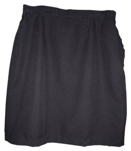 Worthington Career High Waist Skirt Black