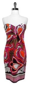 David Meister short dress Cotton on Tradesy
