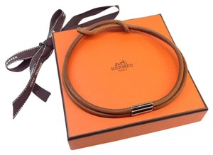 Hermès Hermes Leather Necklace