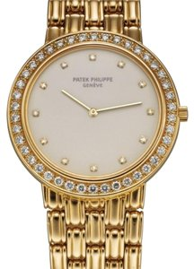 Patek Philippe Patek Philippe 18K Yellow Gold Diamond Watch 3914j