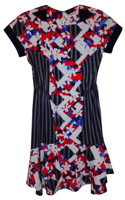 Peter Pilotto for Target short dress Red- Multi on Tradesy