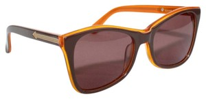 Karen Walker PERFECT DAY Brown Orange Sunglasses