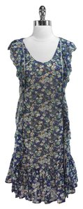 Zac Posen short dress Floral Ruffle on Tradesy