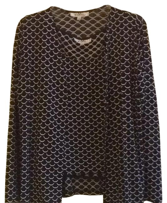 Preload https://item4.tradesy.com/images/patra-black-with-white-details-blouse-size-10-m-1427678-0-0.jpg?width=400&height=650